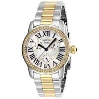 Invicta Women's Angel 28471 Stainless Steel, Gold Watch