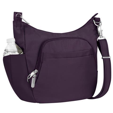 Travelon Anti-Theft Classic Cross-Body Bucket Bag
