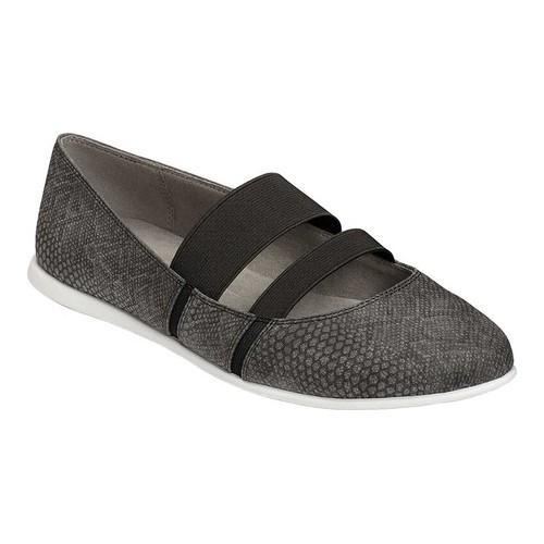 Sale 2018 New A2 by Aerosoles Payout Mary Jane(Women's) -Grey Snake Faux Leather/Elastic Clearance 2018 o4Aiowa