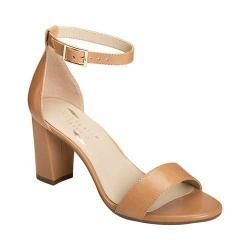 Women's Aerosoles Bird Of Paradise Ankle Strap Sandal Nude Leather