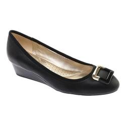 Women's Bandolino Tad Wedge Black Leather (4 options available)