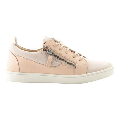 090bdd304d8f4 Shop Women's Giuseppe Zanotti Breck Double Zip Low-Top Sneaker Nude  Calfskin Leather - Free Shipping Today - Overstock - 21727264