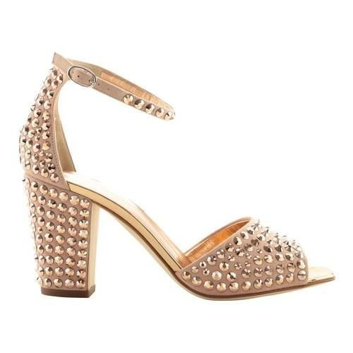 d8cfab2e6c Shop Women's Giuseppe Zanotti Lavinia Studded Ankle-Strap Sandal Cam Shell  Leather - Free Shipping Today - Overstock - 21727286