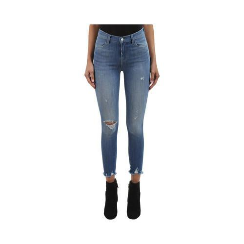 e5f097ad99209 Shop Women s J Brand Alana High-Rise Crop Skinny Jean in Fantasy Raw  Fantasy Raw - Free Shipping Today - Overstock - 21727404