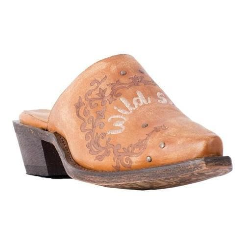 f96d26ae86211 Shop Women's Laredo Rowdy Mule 3102 Tan Leather - Free Shipping ...