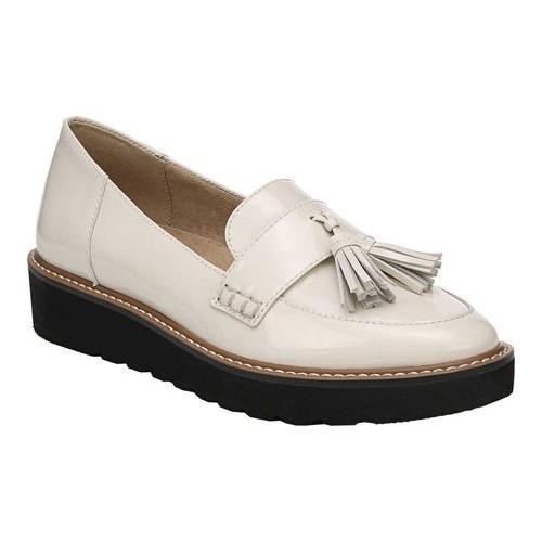 270dd02c6f0 Women  x27 s Naturalizer August Platform Tassel Loafer Alabaster Patent  Leather