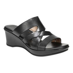 Women's Naturalizer Vivy Slide Black Leather