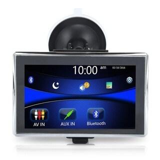 5 Inch X5 Touch Screen 480 X 272 Pixels Car Truck Automotive GPS Navigation - Black & Silver