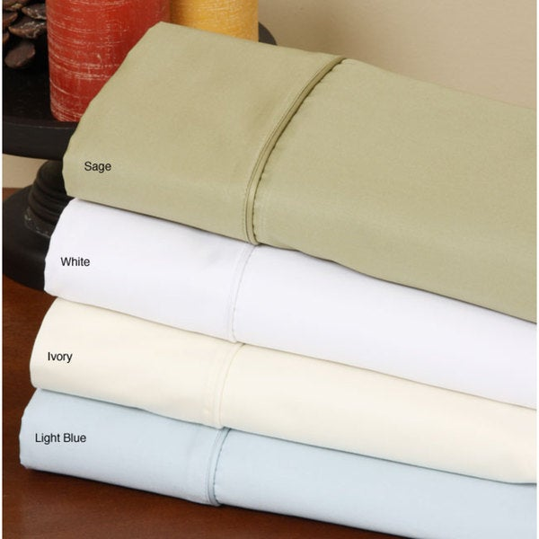 Extra Pocket 3 PCs Fitted Sheet 1000 TC 100/% Egyptian Cotton Navy Blue Solid