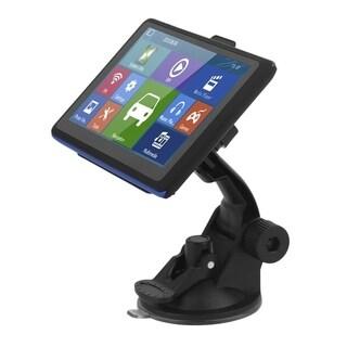 5 Inch TFT LCD Display Car Truck GPS Navigation 8G Free Maps Updates 504 - black