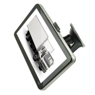 7 Inch GPS Navigation TFT LCD Display GPS Car Truck Navigator Vehicle SAT NAV - black