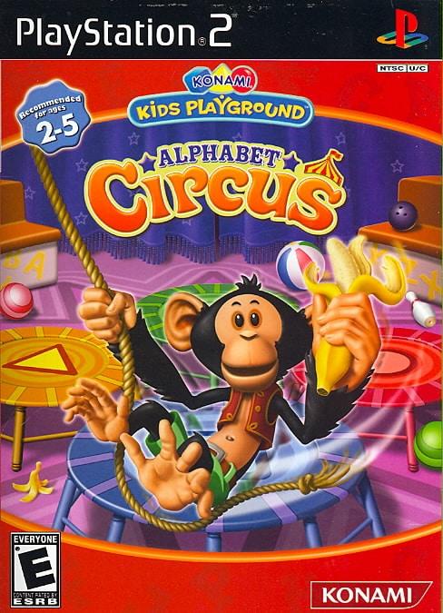 PS2 - Konami Kid's Playground: Alphabet Circus