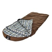 Grizzly +25 Degree Canvas Sleeping Bag with Hyperloft Insulation