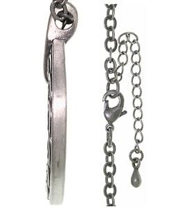 Carolina Glamour Collection Celtic Ring Pewter Unisex Necklace
