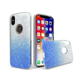 Insten Two Tone Hard Snap-on Glitter Case Cover For Apple iPhone XR