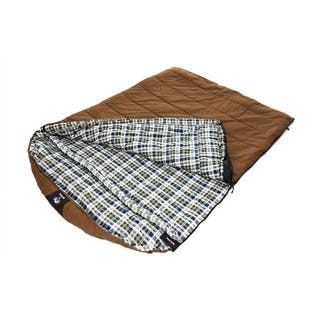 Grizzly 2-person +25-degree Canvas Sleeping Bag|https://ak1.ostkcdn.com/images/products/2552750/P10777551.jpg?impolicy=medium