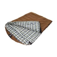 Black Pine Sports Grizzly 2-person Canvas Sleeping Bag