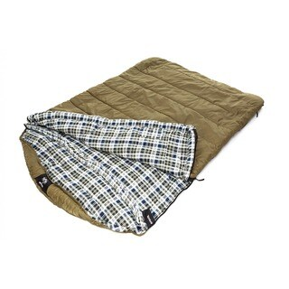 Grizzly 2-person +0-degree Ripstop Sleeping Bag