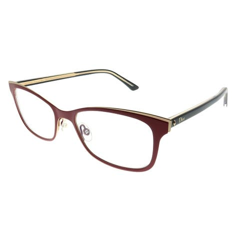 Dior Cat-Eye Montaigne 14 VHH Women Red Frame Eyeglasses