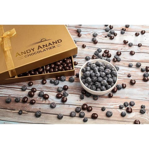 Andy Anand California Blueberries covered with Rich Dark Chocolate