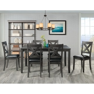 Picket House Alexa 7PC Standard Height Dining Set in Gray