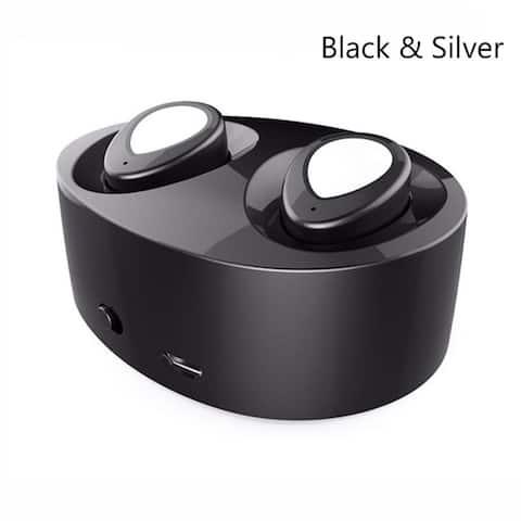 Mini TWS-K2 Stereo Twins Wireless Bluetooth 4.1 Earphone In-ear Headset Earbuds With Charging Box