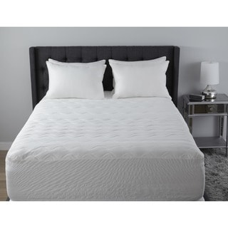 Simmons 5-Zone 500-Thread Count Mattress Pad