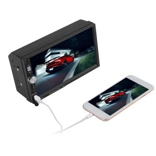 7 Inch Bluetooth Touch Screen Car MP5 Player Steering Wheel Remote Control