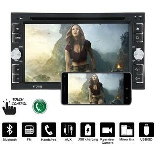 6.2 Inch Car Stereo DVD CD MP3 Player For Ipod Auto HD Radio Audio Camera