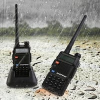 BAOFENG BF-F8+ Professoonal 128 Memory Channels Dual Band Handheld Transceiver