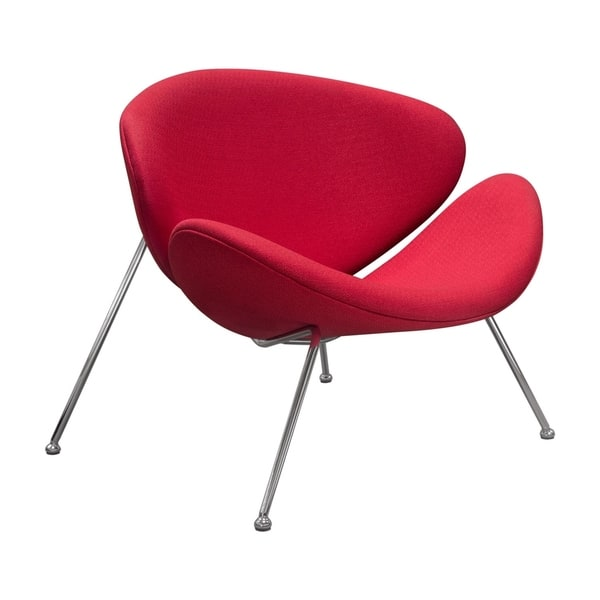 Prime Shop Diamond Sofa Roxy Red Accent Chair With Chrome Frame Ibusinesslaw Wood Chair Design Ideas Ibusinesslaworg