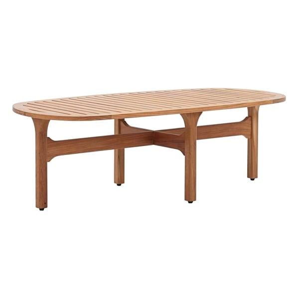 Outdoor Coffee Table Oval: Shop Saratoga Outdoor Patio Premium Grade A Teak Wood Oval