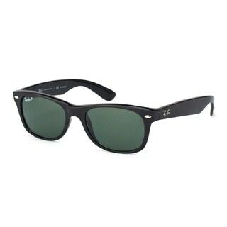 Ray-Ban RB2132 New Wayfarer Men Sunglasses - Black
