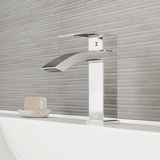 VIGO Satro Single Hole Bathroom Faucet in Chrome