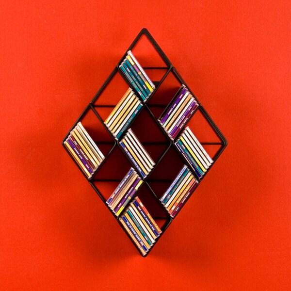 Harper Blvd Wall-mounted CD Rack