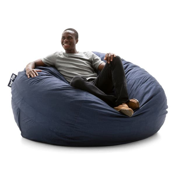 Peachy Shop Big Joe Super Fuf Bean Bag Chair Removable Cover On Caraccident5 Cool Chair Designs And Ideas Caraccident5Info