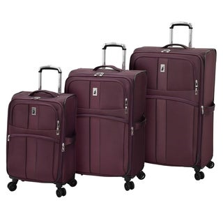 London Fog Langley 3 Piece Spinner Luggage Set