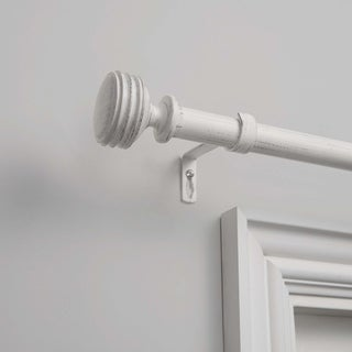 The Gray Barn Dreamweaver 1-inch Curtain Rod and Finial Set