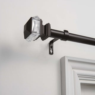 """ATI Home Marquise 1"""" Curtain Rod and Finial Set"""
