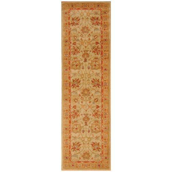 Handmade Mimana Wool Kilim (India) - 3'2 x 4'10