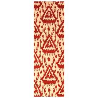 Handmade Mahi Tabriz Wool Rug (India) - 6'8 x 9'11