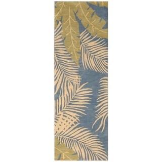 Handmade Tibetan Wool Rug (India) - 3' x 9'