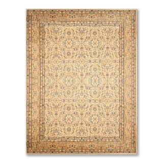 """Hand Knotted Authentic Persian 250 KPSI Wool Area Rug (8'x12'2"""") - 8' x 11'6"""""""