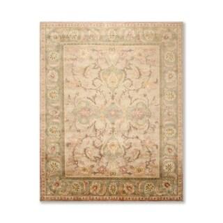 Hand Knotted Wool Tibetan Oriental Area Rug (8'x10') - 8' x 10'