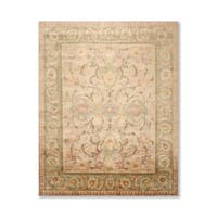 Hand Knotted Wool Tibetan Oriental Area Rug (8'x10') - 8' x 10'