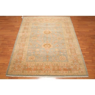 "Authentic Turkish Smyrna Pure Wool Hand Knotted Persian Oriental Area Rug (8'8""x12') - 8'8"" x 12'"