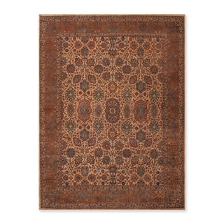 Traditional 200 KPSI Hand Knotted  Wool  Oriental Area Rug (8'x10') - 8' x 10'