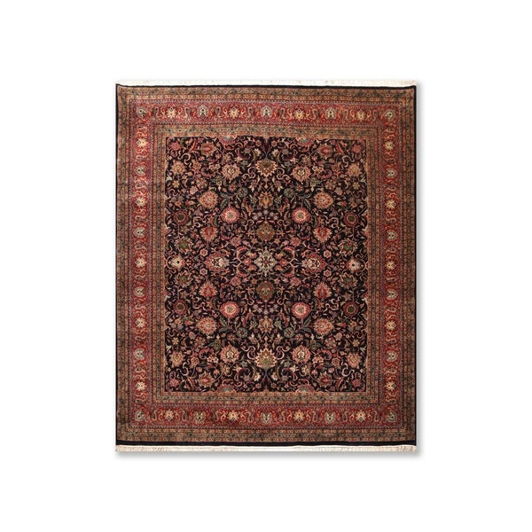 """250 KPSI Hand Knotted Wool Persian Oriental Area Rug (8'2""""x9'8"""") - 8'2"""" x 9'8"""""""