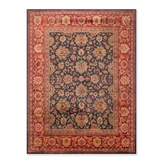 "Hand Knotted Agra Design Wool  Persian Oriental Area Rug   (7'10""x10') - 7'10"" x 10'"