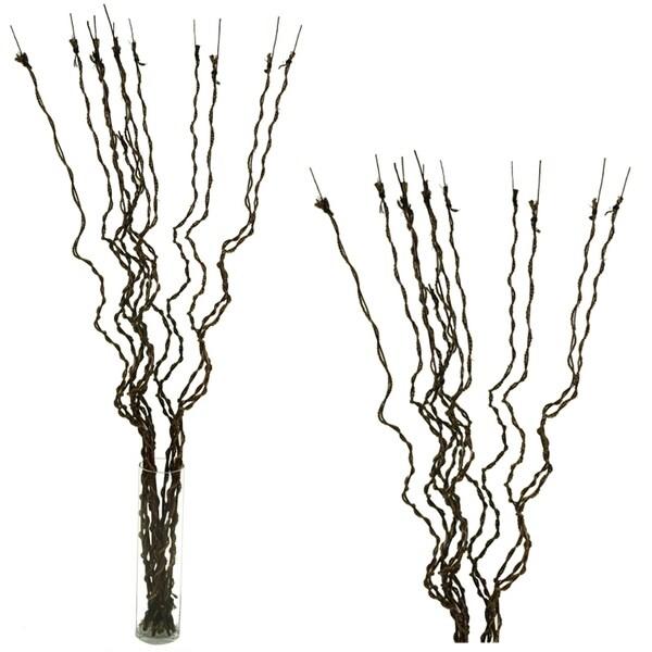 Essential Decor & Beyond Stick Bunch Desktop Grass EN70042 - Brown - 70 x 5 x 5
